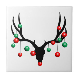 Rudolph the Dead Nosed Reindeer Tile