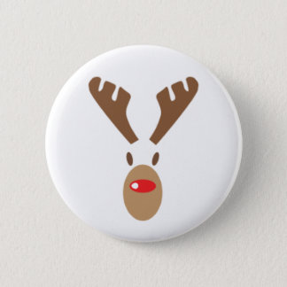 Rudolph The Red-Nose Reindeer 2 Inch Round Button