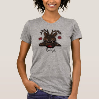 Rudolph the rednosed reindeer T-shirt