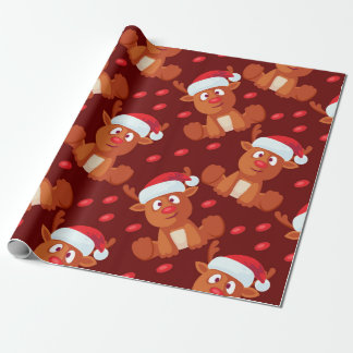 Rudolph the Reindeer Christmas Gift Wrapping Wrapping Paper