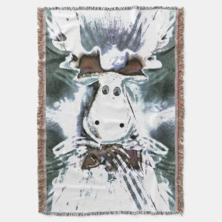 Rudolph Throw Blanket