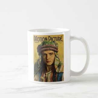 Rudolph Valentino 1922 Movie Magazine Mug