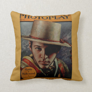 Rudolph Valentino Accent Pillow