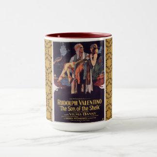 Rudolph Valentino Combo Mug