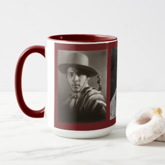 Rudolph Valentino Custom Mug