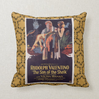 Rudolph Valentino Decorative Accent Pillow