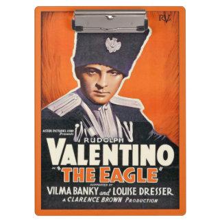 Rudolph Valentino Film Poster Clipboard
