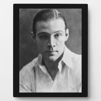 Rudolph Valentino Tabletop Plaque