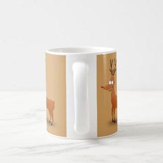 """Rudolph"" White 11 oz. Classic Mug"