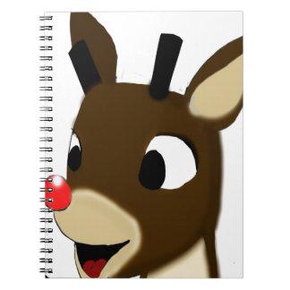 Rudulph the Reindeer Notebook