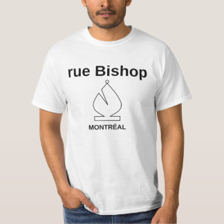 Rue Bishop - Montréal T-Shirt