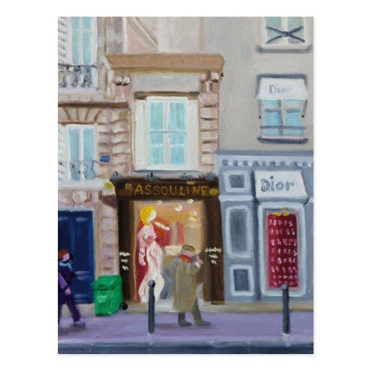 RUE BONAPARTE:  PARIS 75006 POSTCARD
