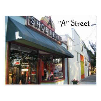 """Rue de """"A"""" - Santa Rosa, CA Cartes Postales"""