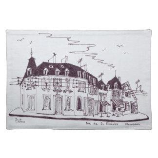 Rue De D. Nicholas | Concarneau, Finistere Placemat
