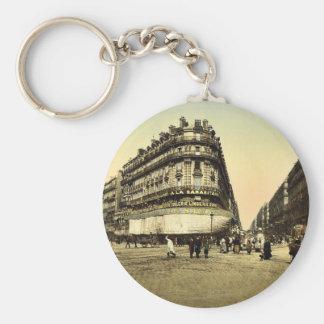 Rue de la Republic, Marseilles, France classic Pho Keychain
