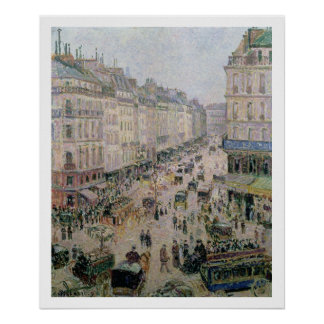 Rue de l'Epicerie, Rouen, on a Sunny Afternoon, 18 Poster