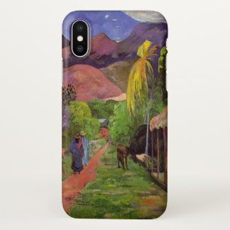 Rue de Tahiti - Gauguin iPhone X Case