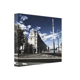 Rue des Moulins in Geneva Canvas Print