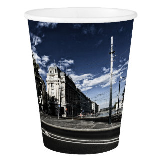 Rue des Moulins in Geneva Paper Cup