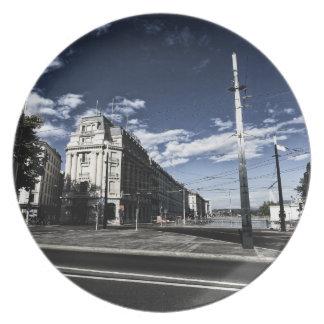 Rue des Moulins in Geneva Plate