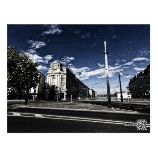 Rue des Moulins in Geneva Postcard