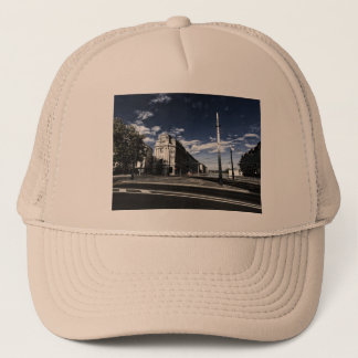 Rue des Moulins in Geneva Trucker Hat
