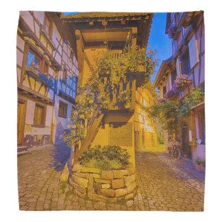 Rue du Rempart-Sud rue l'Allemand-Sud iEguisheim Bandana