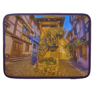 Rue du Rempart-Sud rue l'Allemand-Sud iEguisheim Sleeve For MacBooks