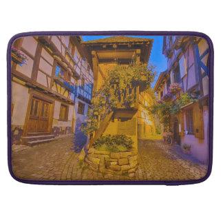 Rue du Rempart-Sud rue l'Allemand-Sud iEguisheim Sleeves For MacBook Pro
