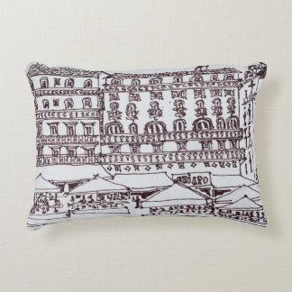 rue Garrett, Chiado | Lisbon, Portugal Accent Pillow