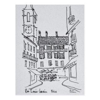 Rue Louis Gassin, Old Nice | Nice, France Postcard