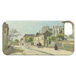 Rue Notre Dame Paris by Johan Barthold Jongkind iPhone 5 Cases