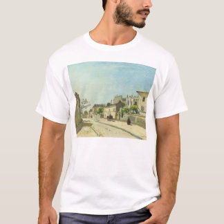 Rue Notre Dame Paris by Johan Barthold Jongkind T-Shirt