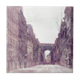 Rue Saint-Denis in Paris by Thomas Girtin Tiles