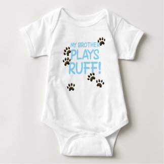 Ruff Brother - Blue Baby Bodysuit