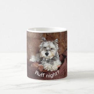 Ruff Day :) - puppy mug to brighten your day.