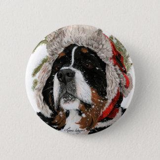 Ruff Winter 2 Inch Round Button