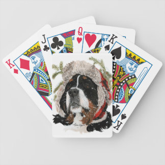 Ruff Winter Bicycle Playing Cards