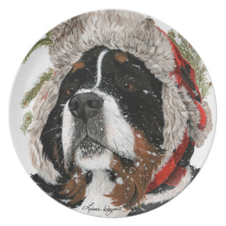 Ruff Winter Plate