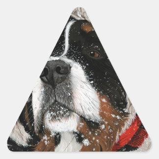 Ruff Winter Triangle Sticker