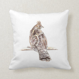 Ruffed Grouse Pillow