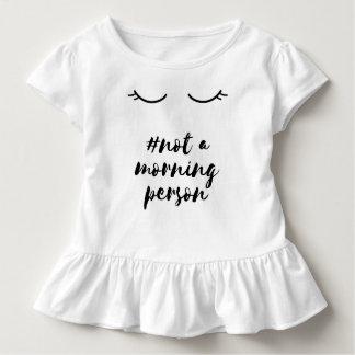Ruffle Shirt #not morning person