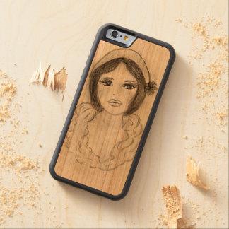 Ruffled Flapper Girl Carved Cherry iPhone 6 Bumper Case