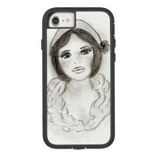 Ruffled Flapper Girl Case-Mate Tough Extreme iPhone 8/7 Case