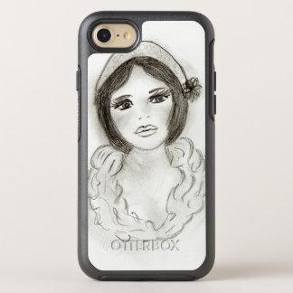 Ruffled Flapper Girl OtterBox Symmetry iPhone 8/7 Case