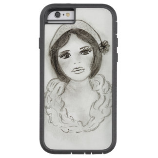 Ruffled Flapper Girl Tough Xtreme iPhone 6 Case