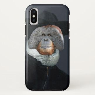 Ruffles Make the Man Orangutan iphoneX case