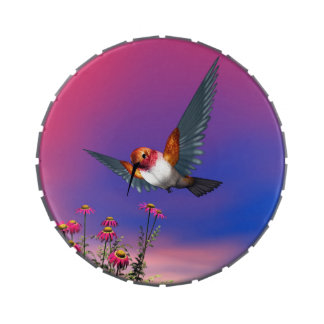 Rufous hummingbird - 3D render