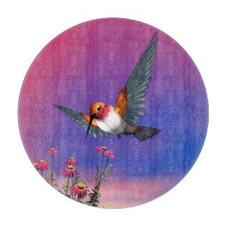 Rufous hummingbird - 3D render Cutting Board