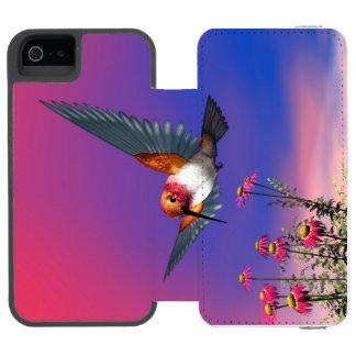 Rufous hummingbird - 3D render Incipio Watson™ iPhone 5 Wallet Case